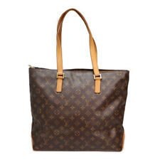 LOUIS VUITTON M51151 Shoulder Tote Bag Cabas Mezzo Monogram Leather Wo