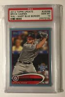 BRYCE HARPER RC BLUE 2012 Topps Update 19yr Old Rookie 1st All Star Game PSA 10