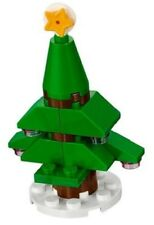 BN Lego Holiday Christmas Tree seasonal Friends City 18 pcs star top santa