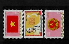 NORTH VIET NAM Sc 786-88 NH issue of 1975 - ARMS