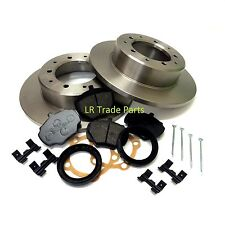 LAND ROVER DISCOVERY 1 300 TDi NEW REAR BRAKE DISCS, PADS FITTING KIT, DISC SET