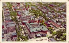 Hotel De Soto, Bird'S-Eye View Of Savannah, Ga.
