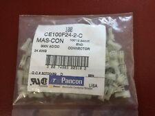 Lot de 100 connecteurs PANCON MAS-CON CE100F24-2-C  2.54mm AWG24