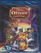 Oliver and Company (1988) Disney's 27th Animated Classic New & Sealed UK Blu-ray