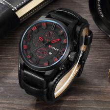 Herren Uhren Männer Militär Wasserdicht Armbanduhr Datum Kalender Analoge Quarz