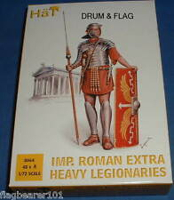 HAT 8064 IMPERIAL ROMAN EXTRA HEAVY LEGIONARIES. 1/72 SCALE UNPAINTED PLASTIC
