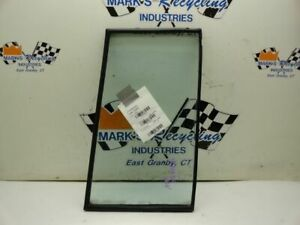 Driver Rear Door Vent Glass Fits 92-97 ISUZU TROOPER 153816