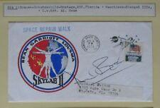 S1479) spatiale Space Repair Walk Skylab 3 Cover KSC 6.8.1973 signed ALAN BEAN