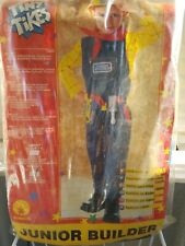 Junior Builder Rubies Costume Disguise Child Sz Toddler 2 - 4 50 % Off