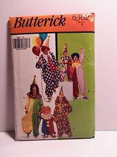 Butterick Clown Costume Pattern 6302 Size B