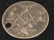 Vintage Masonic Lodge No 604 Coin Atlanta Decatur, Georgia Dated 1945 Silver
