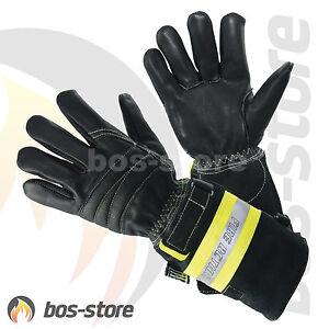 Feuerwehrhandschuh askö FIRE ACTION, Feuerwehr Innenangriff Brand Handschuh,neu
