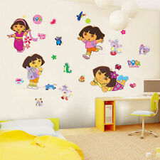 Dora The Explorer Wall Sticker Removable PVC Decals Kids Girls Room Decor DIY