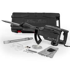 2200-Watt Heavy-Duty Electric Jackhammer Demolition Hammer Concrete Breaker Kit