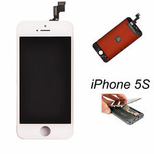 White LCD Display+Touch Screen Digitizer Assembly Replacement for iPhone 5S OEM+