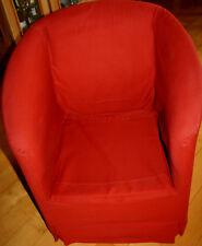 Solitär-Sessel der Marke Wittmann / Österreich, rot   **gebraucht**