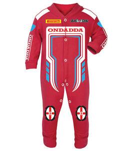 OnDadda Baby Biker Race Sleep Suits