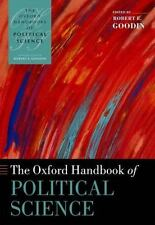 THE OXFORD HANDBOOK OF POLITICAL SCIENCE - GOODIN, ROBERT E. (EDT) - NEW PAPERBA