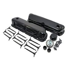 Black Ford Valve Cover Dress Up Kit 1962-85 SBF 260 289 302 351W 5.0 Small Block