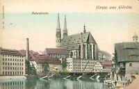 [Greetings from] Gruss aus Gorlitz [St Peter's Church] Peterskirche. Undivided