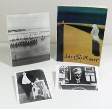 Léon Spilliaert 1881-1946. Catalogue d'exposition, 1981. 3 photos S.P.