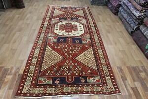 OLD HANDMADE PERSIAN RUNNER, VERY HARD WEARING GREAT CONDITION 325 x 135 CM