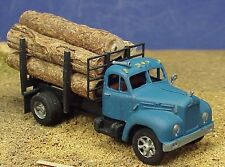 HO/HOn3 WISEMAN MODEL SERVICES CS-0001 MACK B SERIES LOG TRUCK KIT