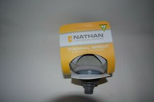 Nathan Thermal Sprint Handheld Bottle, Orange,Gray