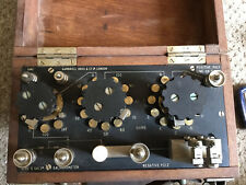 Vintage  Wartime Gambrell Bros Ltd London 1940 Galvanometer
