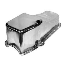 CHROME OIL PAN 4QT STOCK CAPACITY 262 267 283 305 327 350 400 58-79 SBC