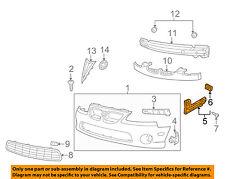 Pontiac GM OEM 04-06 GTO Front Bumper-Guide Bracket Left 92177408