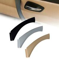 Right Drive Side Inner Door Handle Trim Cover For BMW 3Series E90 Sedan Black