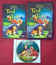Tod y Toby - DVD - Walt Disney - USADO - MUY BUEN ESTADO