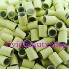 500 4mm Blonde Copper Silicone Tube Micro Ring for I Bonded Tip Hair Extensions