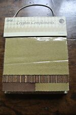 Fabricut 'Crypton Complements' US designer sample fabric book -patchwork/craft