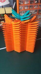 New Lego Brick Separator Tool - Orange, Teal, Green L, Grey L & Black XL