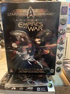 Star Trek Starfleet Command Volume II Empires at War PC Complete Big Box Game (H