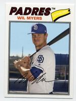1977 Topps #179 WIL MYERS San Diego Padres Baseball Card - 2018 Archives