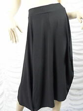 LOUNGE APPAREL black round skirt size L BNWT