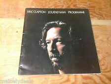 Eric Clapton Journeyman Programme 1990 Used Good Condition