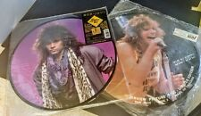 Free Shipping- Lot of 2 Bon Jovi picture discs.  Never opened.  Limited Edition.