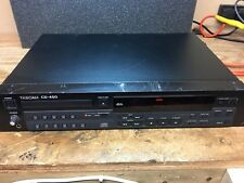 Tascam CD-450 Compact Disc CD Player Rack Mount,won't Read Discs!,spares
