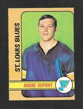 1972-73  OPC HOCKEY ,  # 16 , ANDRE DUPONT , (RC) , ST.LOUIS BLUES