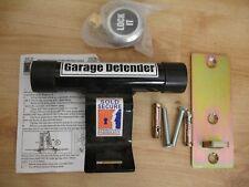 Garage Defender Garage Door Lock Security Stop Bar - Protect Motorbikes & Bikes