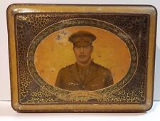 Biscuit Tea Sweets Cigar Tin H.R.H The Duke of Gloucester