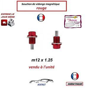 bouchon/boulon vidange magnétique m12x1.25 convient bmw/daihatsu/chrysler/lexus