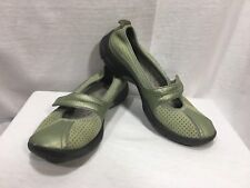 Privo Clarks 5M Leather Mary Jane Green Slip On Shoes