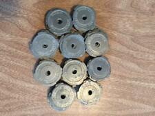 100 VINTAGE METAL 45 RPM RECORD ADAPTERS