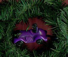 Catwoman rolling car /'91 DC comics McDonalds custom hanging Christmas ornament