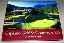CAPILANO GOLF CLUB HISTORY 1938 GOLFING WEST VANCOUVER BRITISH COLUMBIA CANADA